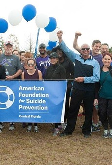 'Out of the Darkness' Orlando walk aims to aims to create community and prevent suicide