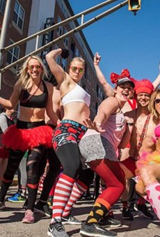 Cupid's Undie Run brings dozens of scantily clad runners to downtown Orlando this weekend