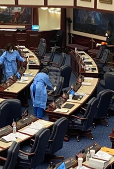 The Florida House of Representatives on Monday