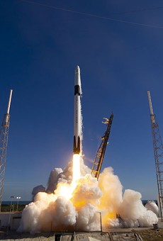 Falcon 9, a SpaceX rocket