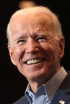 Florida Democratic voters chose Joe Biden, then sanitized their hands