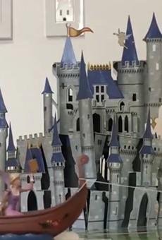 Lindsay Brightman re-creates the Festival of Fantasy parade at home.