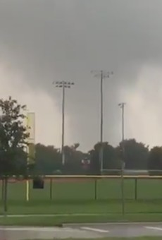 Tornado spotted at Seminole County recreational facility