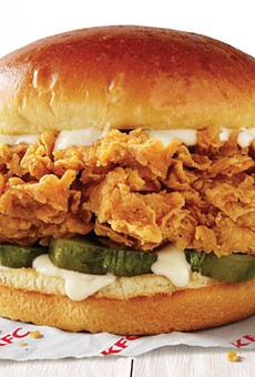 KFC is testing a new chicken sandwich exclusively in Orlando