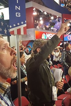 Things get rowdy at the 2016 Republican National Convention