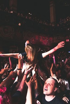 Audience at Motion City Soundtrack's House of Blues show