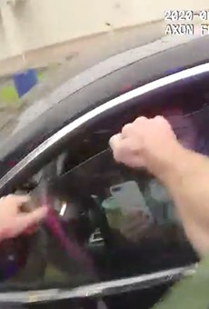 Bodycam footage released of Orange County Sheriff's deputy smashing woman's car window