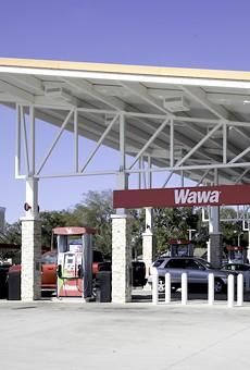 An Orlando Wawa gas station