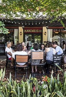 Maxine's on Shine, in a less socially distanced past