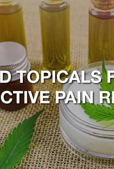Best CBD topicals for effective pain relief