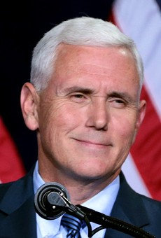 Vice President Mike Pence calls off Florida appearances