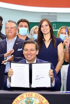 Florida Gov. Ron DeSantis' net worth was up in his first year as governor
