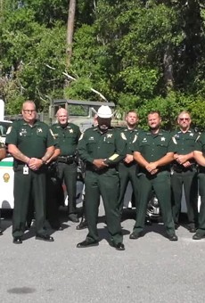 Florida sheriff who said he would deputize 'every lawful gun owner' against protesters now says he legally can't do that