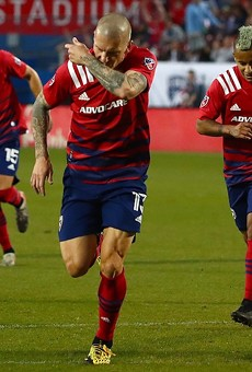 FC Dallas in action