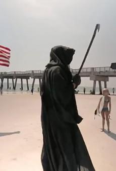 Florida attorney and coronavirus 'Grim Reaper' keeps pushing lawsuit to force Gov. DeSantis into closing beaches