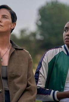Charlize Theron and KiKi Layne in 'The Old Guard'