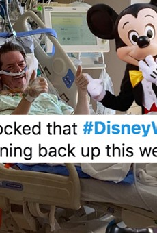 As tourists flock to Walt Disney World during a pandemic, Twitter lets loose