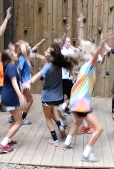 Screenshot from a March 2015 YMCA Camp High Harbour video