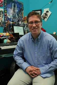 Drew Adams in 2019