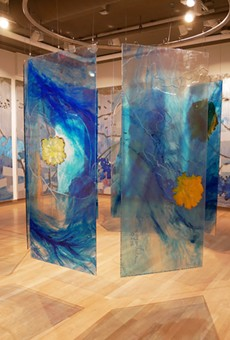 Installation view, 'High Water Mark' by Mira Lehr at Mennello Museum of American Art.