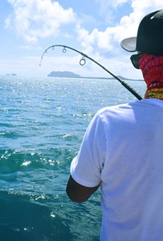 Enjoy fishing from a boat in Florida on 'License-Free Saltwater Fishing Day'