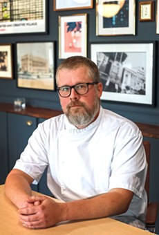 The Monroe executive chef Josh Oakley