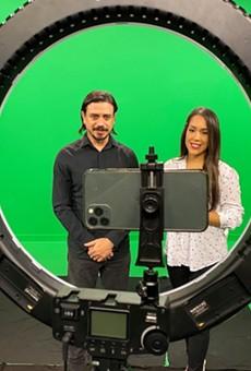 Nando Luis Roman and Christina Carmona