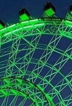The Wheel at ICON Park will go green this week
