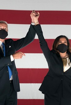 Vice President Joe Biden and Sen. Kamala Harris