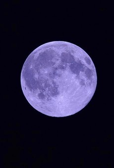 Celebrate Halloween with a sighting of a rare 'Blue Moon' for the first time in almost 80 years