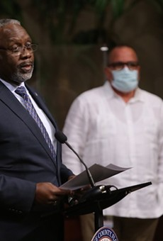 Orange County Mayor Jerry Demings considering a plan to fine local businesses in repeat violation of CDC guidelines