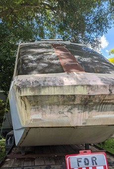 The current state of the Kings Island monorail