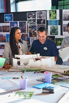 A background photo on the Walt Disney Imagineering website.