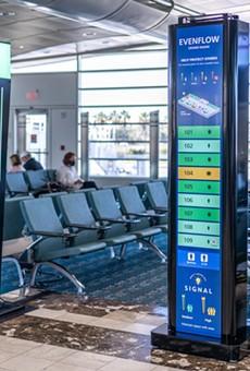 Orlando International Airport's new radar system tracks people, not planes