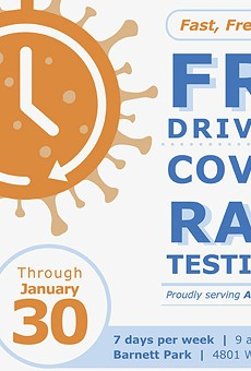 Free COVID testing in Barnett Park for Orange County residents extended through Jan. 30