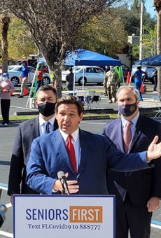 Florida Gov. Ron DeSantis shrugs off maskless Super Bowl crowds in Tampa by saying he's 'damn proud of the Bucs'