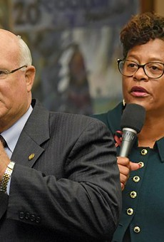 State Senator Dennis Baxley of Ocala seeks to limit the state scholarship program.