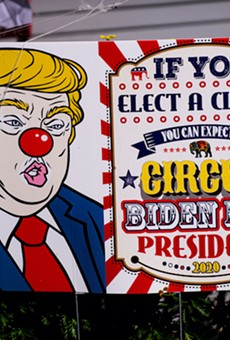 If you elect a clown, you can expect a circus, and with very few exceptions, Republicans are no longer a serious party