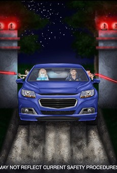 Concept art for 2021 Horror drive-thru adventure