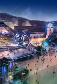 The Hong Kong Disneyland Stark Expo Marvel-themed land