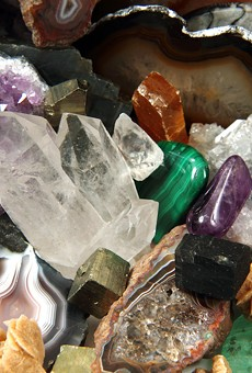 All the pretty rocks you can carry at this weekend's Rock, Mineral, Gem, Jewelry + Fossil Show
