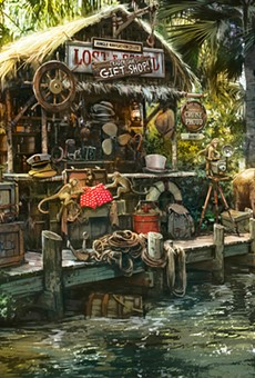 A new trading outpost (wink, wink) planned for Disney's updated Jungle Cruise ride.