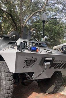 Is it really necessary for the Winter Park Police Department to own an armored personnel carrier?
