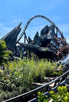 Jurassic World: VelociCoaster is scheduled to open June 10.