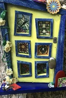 Enchanted Fairy Doors bring miniscule magic to Leu Gardens this summer
