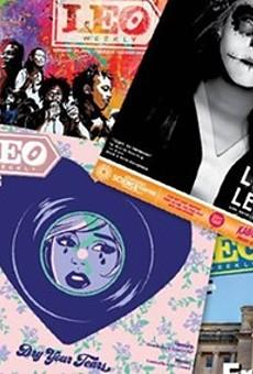 LEO Weekly covers