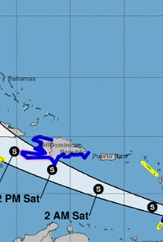 With Florida in its sights, Elsa strengthens into a hurricane