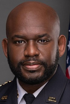 Daytona Beach PD Chief Jakari Young laid into Rep. Mike Waltz on Twitter for sharing the condition of a police officer who was shot in the head.