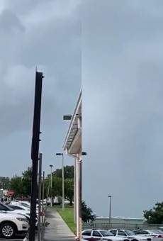 NSBPD shared video of a possible tornado on Monday.