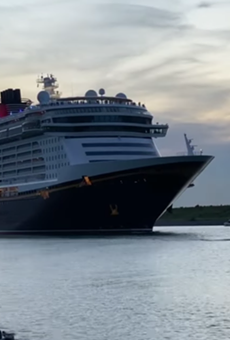Disney Cruise Line set sail from Port Canaveral for the first time in more than 500 days.
